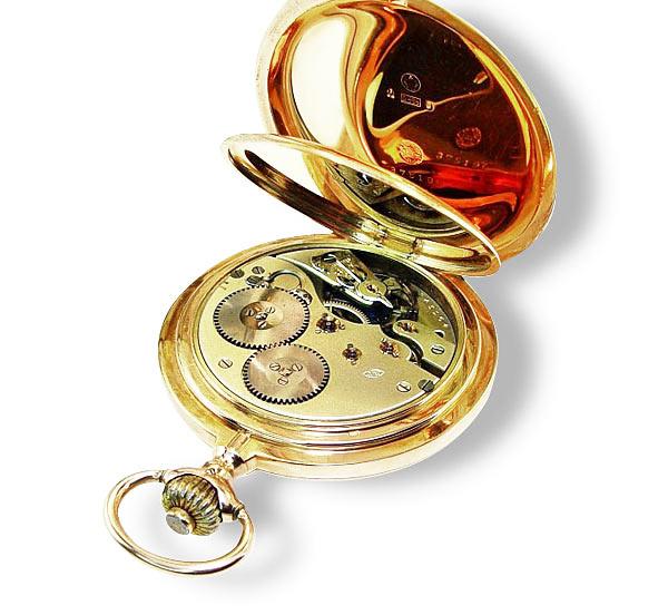 iwc rarit t goldene taschenuhr iwc 375196 werknummer 345164 585 gold drei deckel schmuck. Black Bedroom Furniture Sets. Home Design Ideas